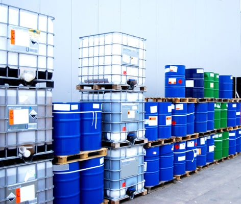 Container And Oil Drums